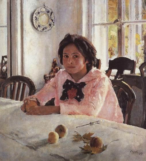 В. Серов. «Девочка с персиками». 1887 г.