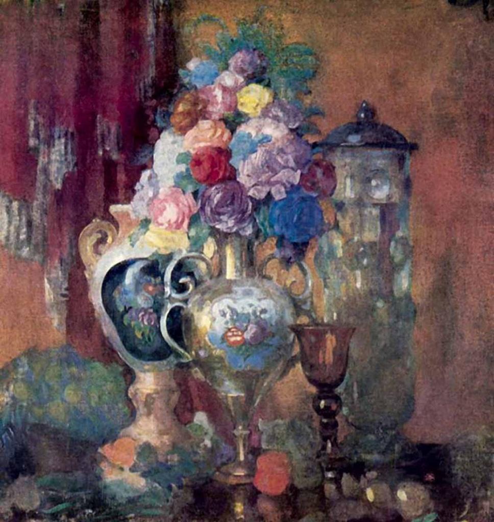 Н.Н. Сапунов. «Вазы и цветы». 1910 г.